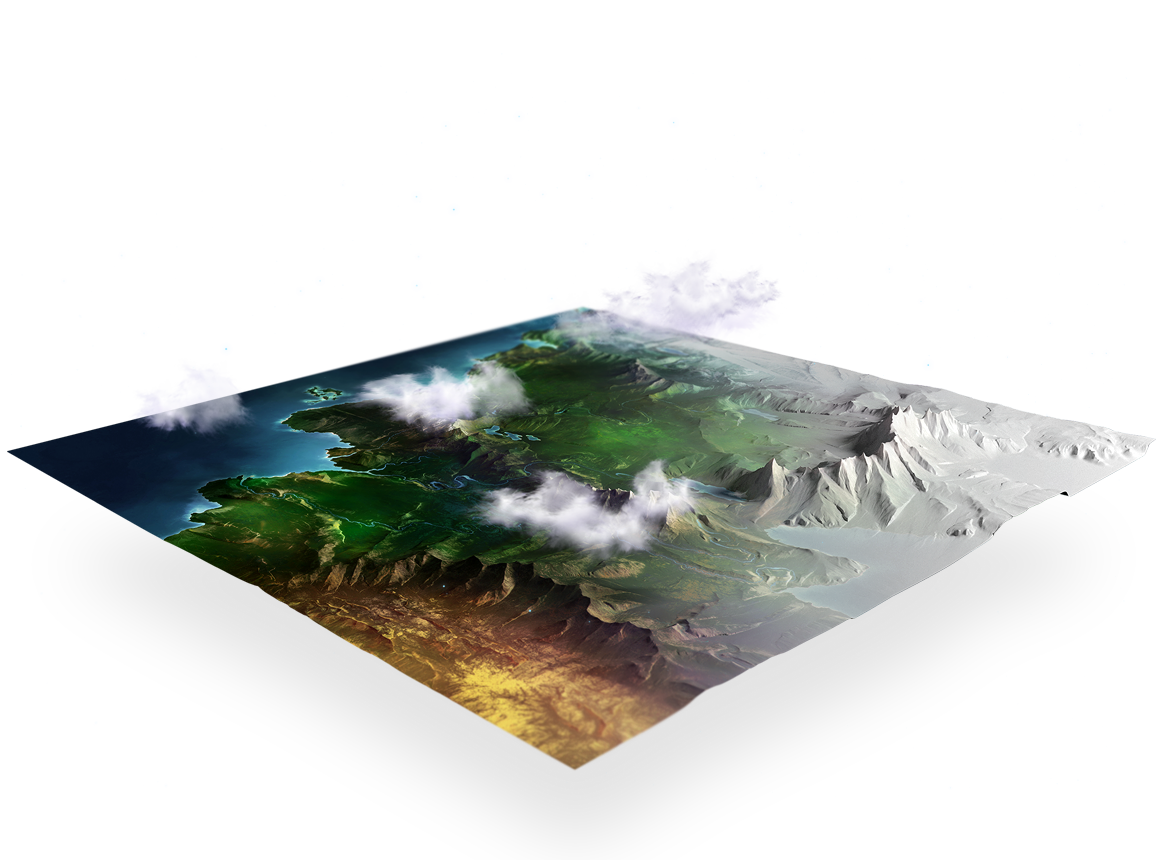 mapa lewitujaca